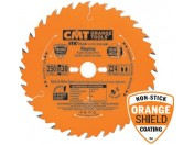 Dunnere zaagbladen voor accumachines CMT met ORANGE SHIELD-coating